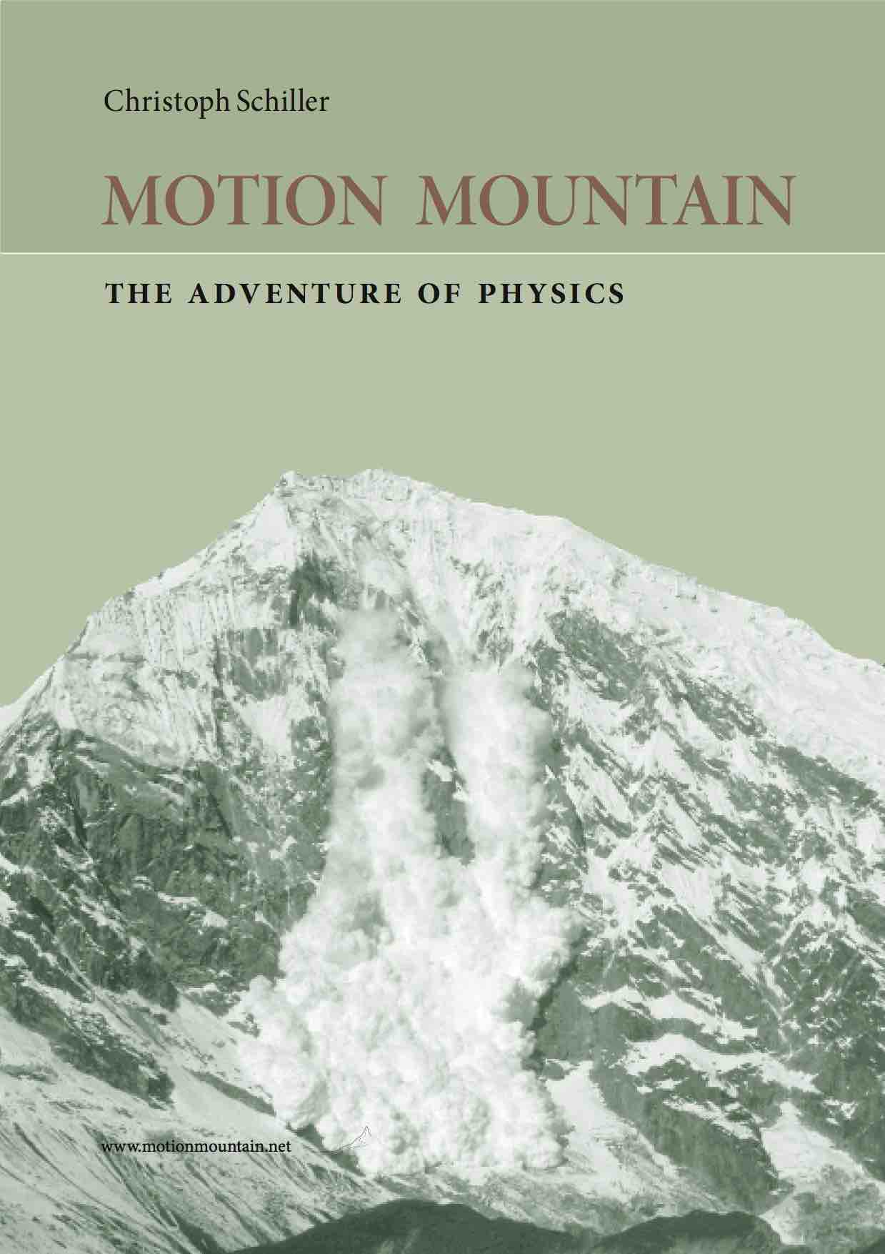 Motion Mountain Physics Textbook cover